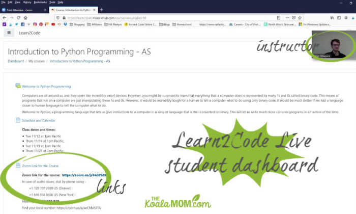 Learn2Code Live coding classes for kids help children learn programming languages and skills.