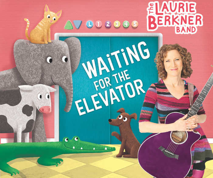Waiting for the Elevator CD by Laurie Berkner
