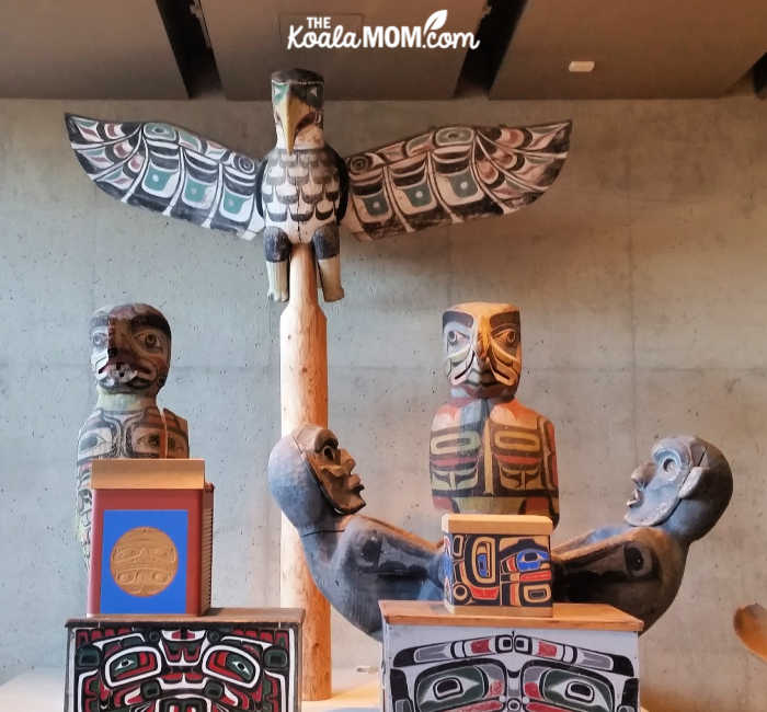 First Nations art at UBC's MOA