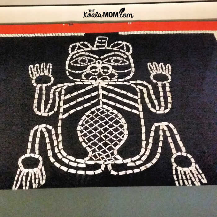 quill frog - Frist Nations art
