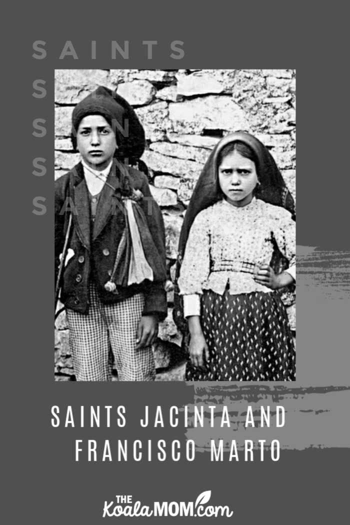Saints Francisco and Jacinta Marto, also known as the Fatima children, are among the youngest saints of the Catholic Church.