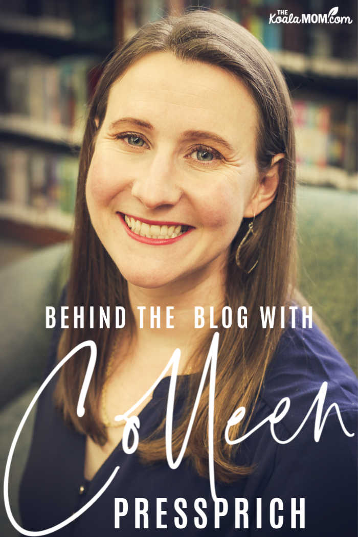 Behind the blog with Colleen Pressprich
