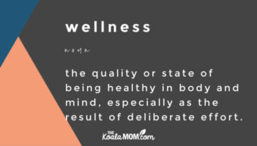 wellness - the quality or state of being healthy in body and mind, especially as the result of deliberate effort