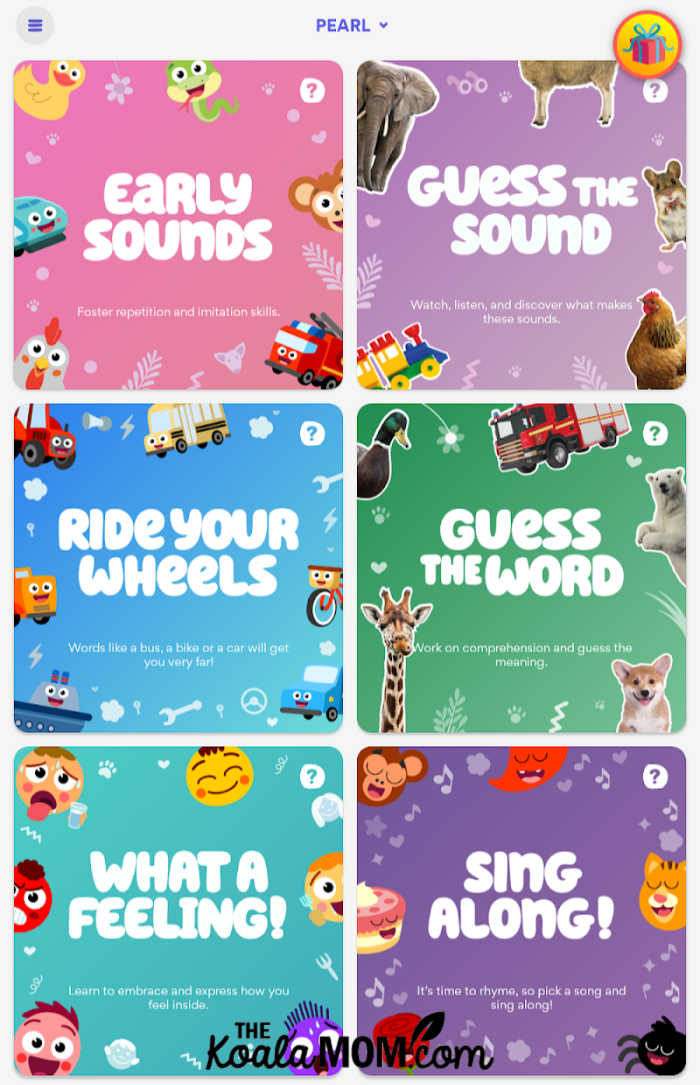 Speech Blubs app helps improve your child's language skills with fun activities.