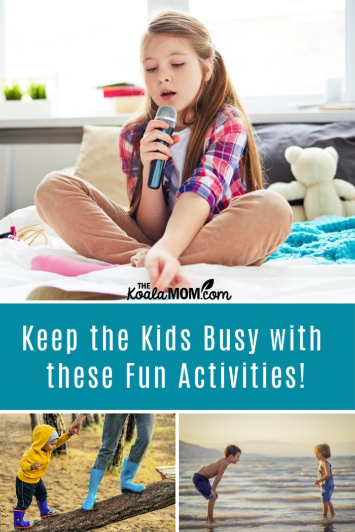 Keep the kids busy with these fun activities!