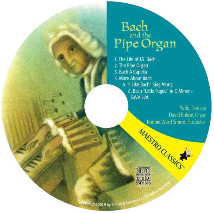 Bach and the Pipe Organ CD from Maestro Classics