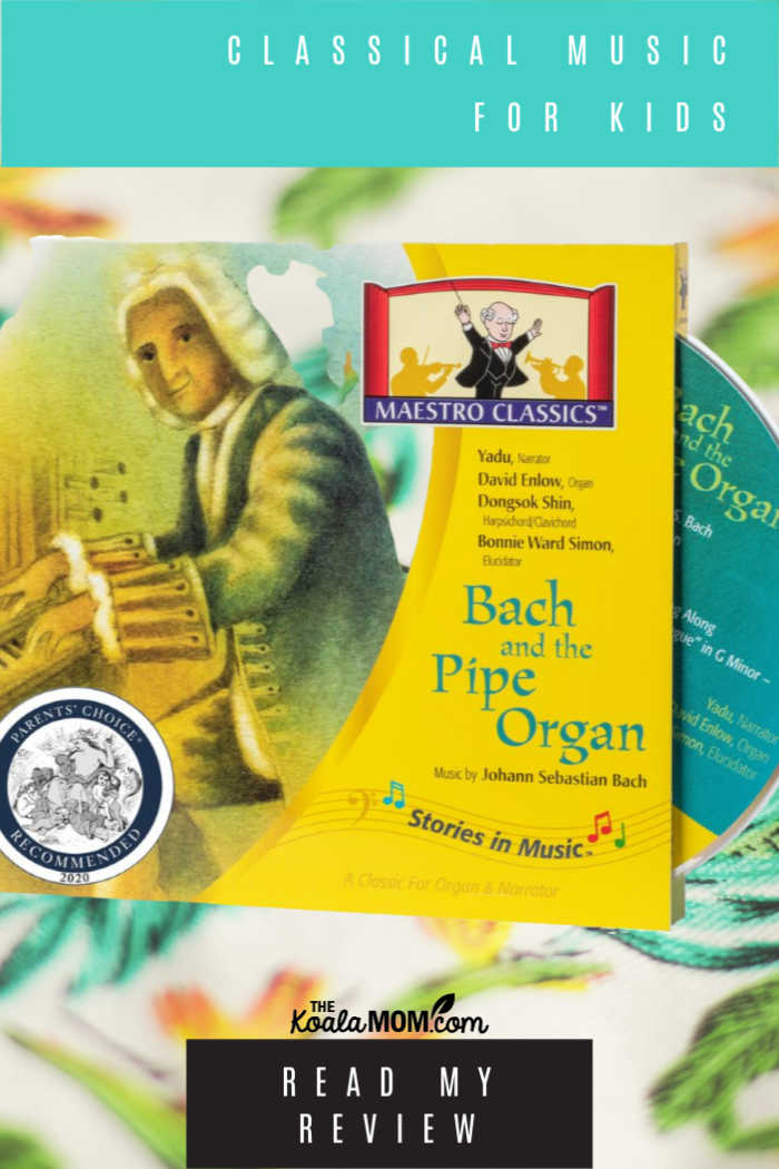 Maestro Classics presents Bach and the Pipe Organ, classical music for kids!