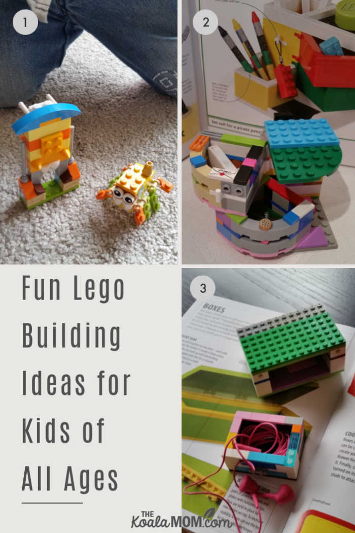 Fun Lego building ideas for kids of all ages.