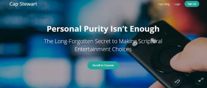 Cap Stewart presents Personal Purity Isn't Enough: the Long-Forgotten Secret to Making Scriptural entertainment choices