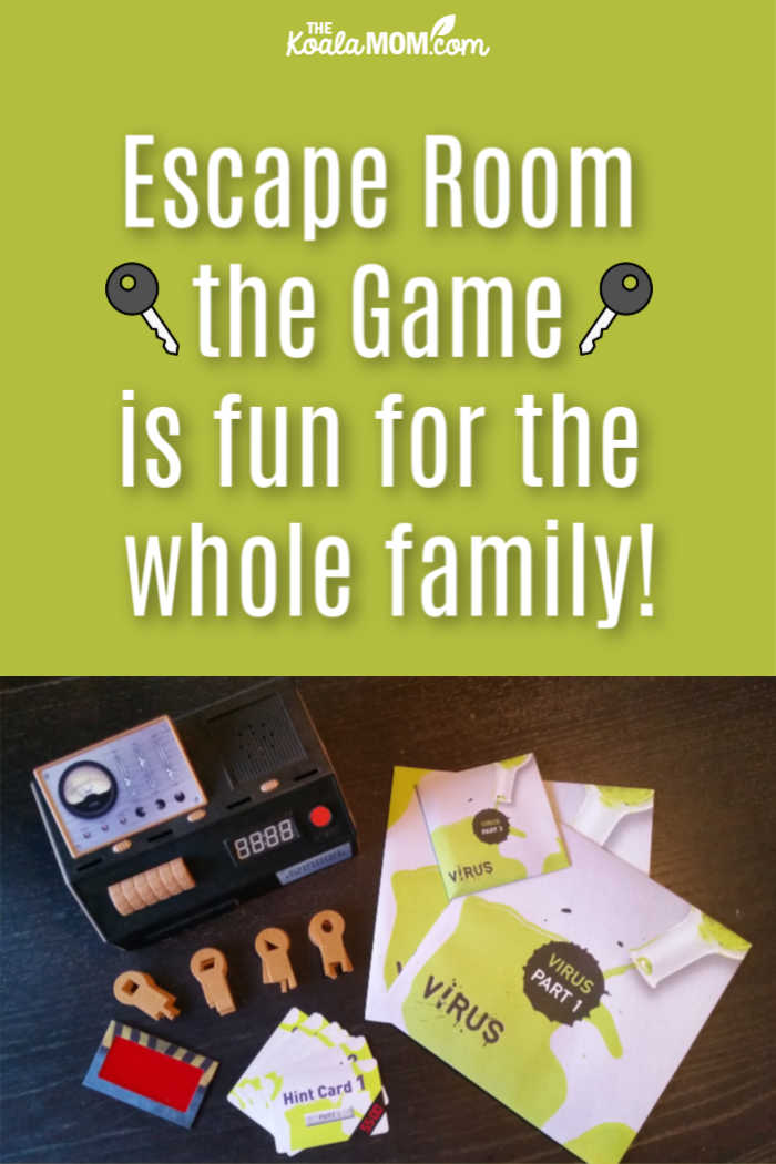 Escape Room the Game is fun for the whole family!