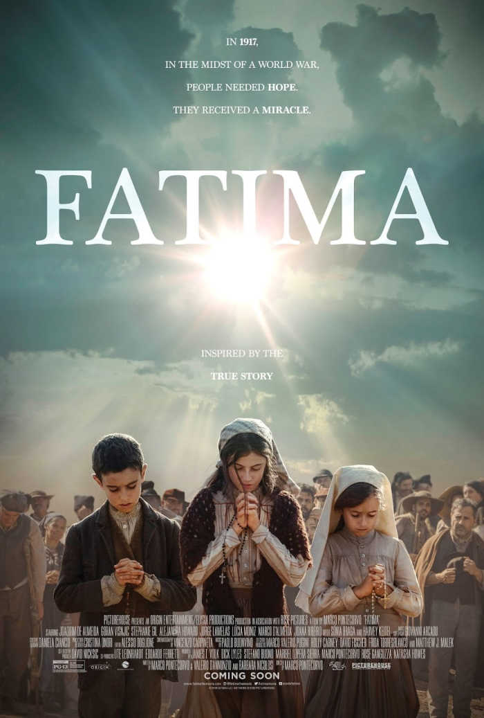 Fatima: a full-length movie about Lucia, Jacinta and Francisco and Our Lady of Fatima