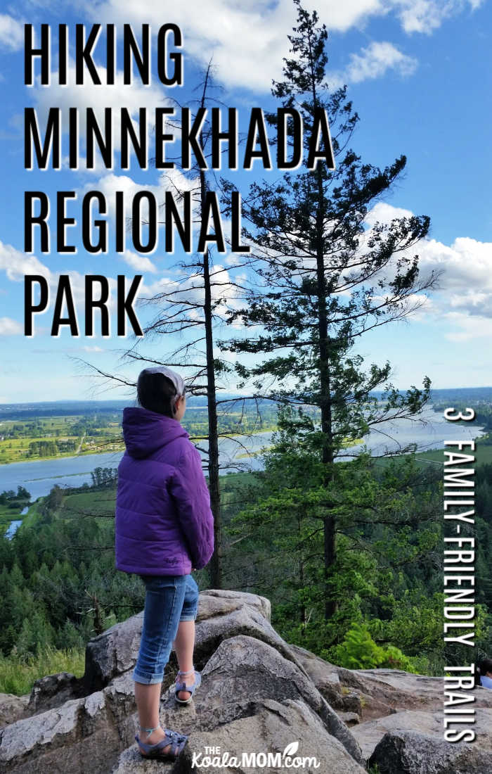 Hiking Minnekhada Regional Park - three family friendly trails