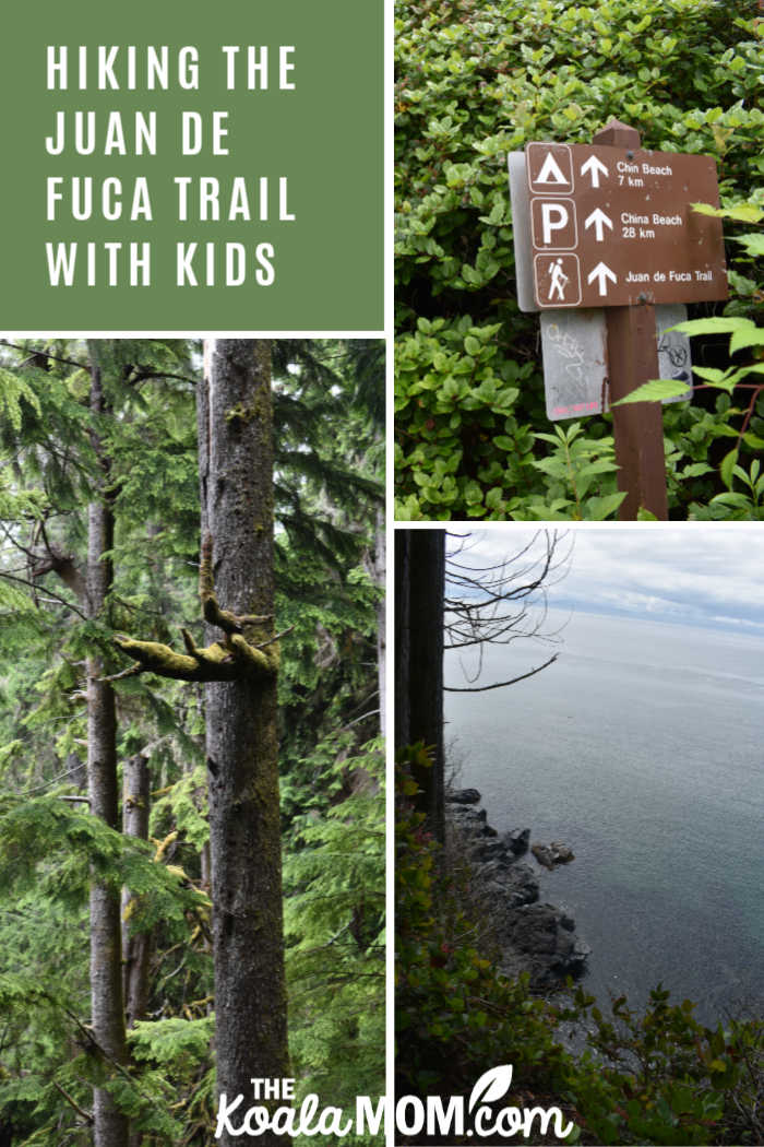Hiking the Juan de Fuca Trail with kids.