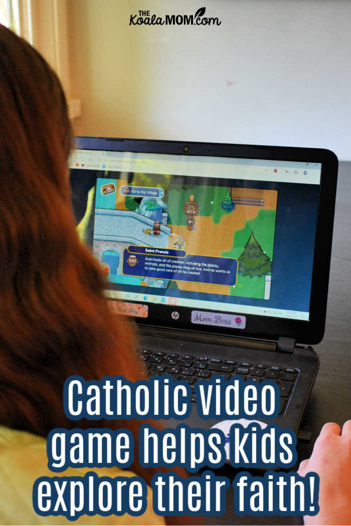 Catholic video game helps kids explore their faith.