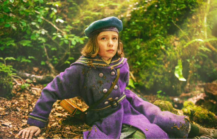 Mary (played by Dixie Egerickx) in The Secret Garden (2020)