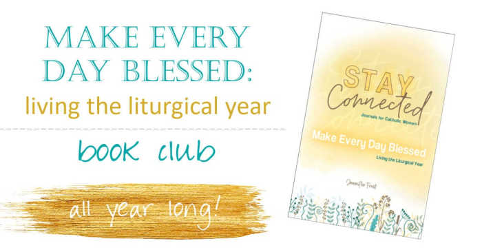 Make Every Day Blessed book club hosted on Facebook.