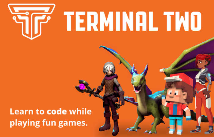 Terminal Two - kids learn to code while playing fun games!