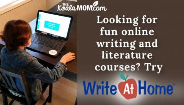 Looking for fun online writing courses for homeschoolers? Try WriteAtHome!