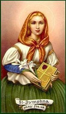 St. Dymphna, Lily of Eire.
