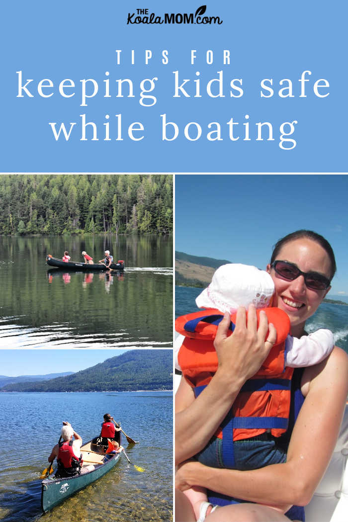 Tips for keeping kids safe while boating.