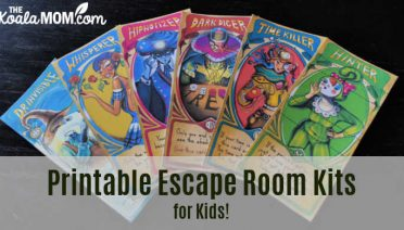 Kids escape room games are super fun for family game night or birthday parties!