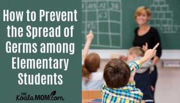 How to prevent the spread of germs among elementary students.