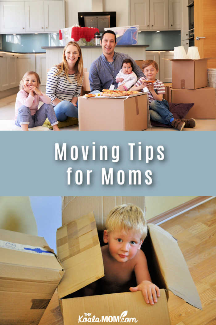 Moving Tips for Moms