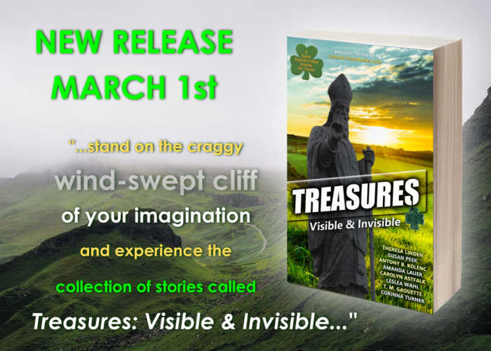 New release: March 1st - Treasures Visible & Invisible