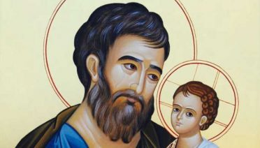 Icon of St. Joseph commissioned by Fr. Donald Calloway for his book, Consecration to St. Joseph