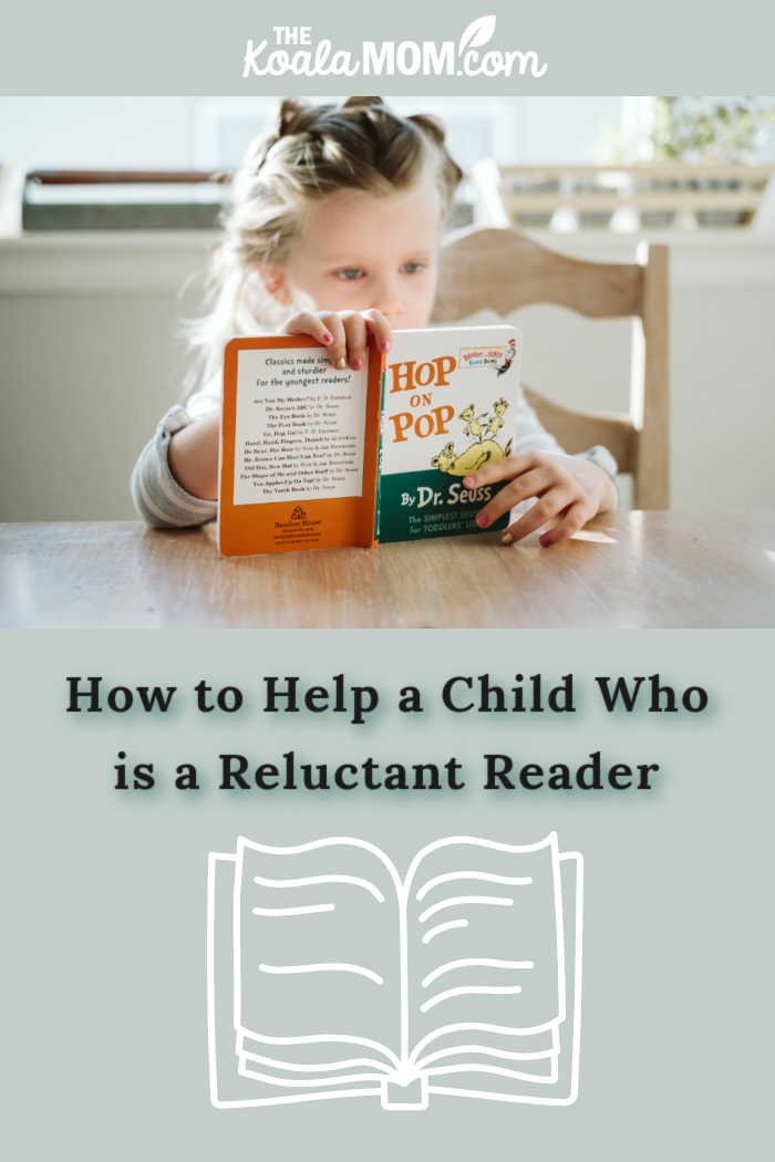 How to Help a Child Who is a Reluctant Reader