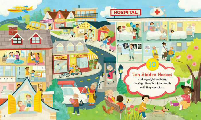 Find 10 hidden healthcare heroes in this page from Mark K. Shriver's new book.