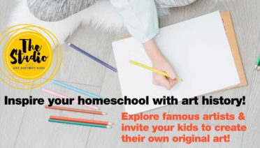 Inspire your homeschool with art history!