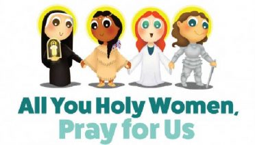 All You Holy Women, Pray for Us by Adam and Angela Smyth