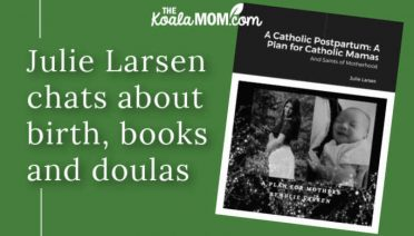 Julie Larsen chats about birth, books and doulas