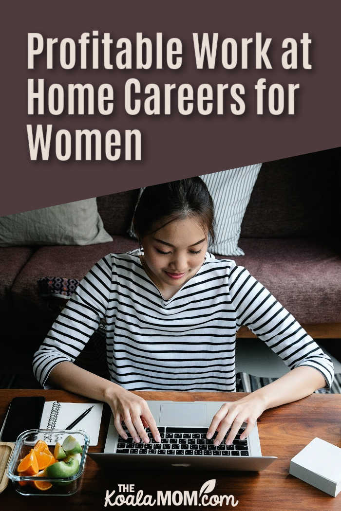 Profitable Work at Home Careers for Women
