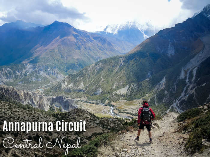 The Annapurna Circuit in Central Nepal is one of the world's best trekking destinations.