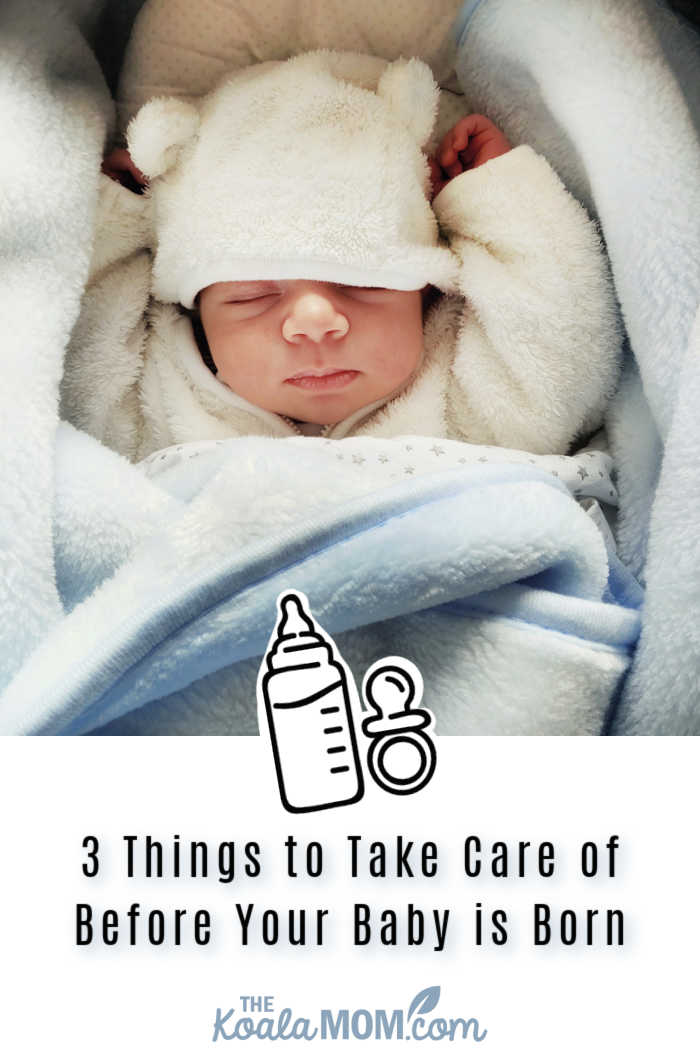 3 Things to Take Care of Before Your Baby is Born. Photo by Damir Spanic on Unsplash.