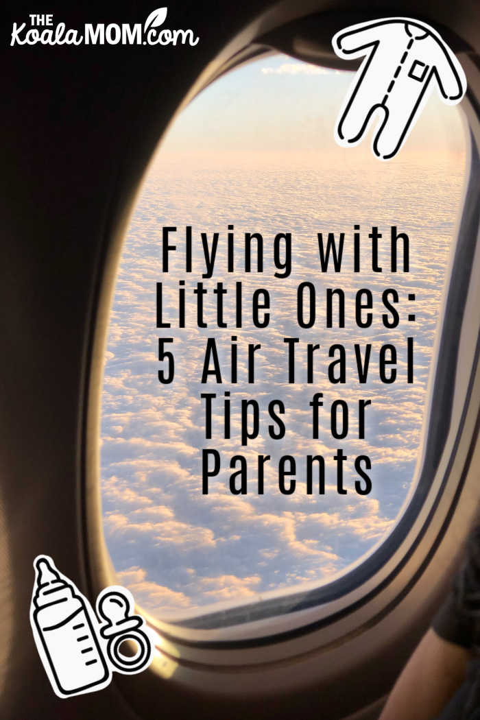Flying with Little Ones: 5 Air Travel Tips for Parents. Photo by Jill Burrow from Pexels.