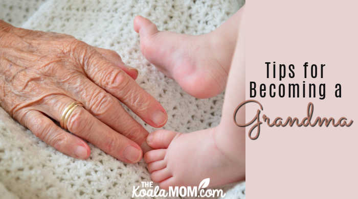 Tips for Becoming a Grandma. Image by Nikon-2110 from Pixabay