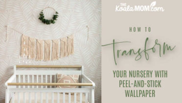 See How Peel And Stick Wallpaper Can Transform Your Nursery